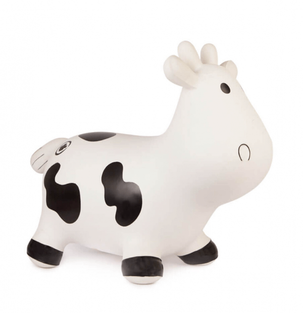 bouncy cow side view