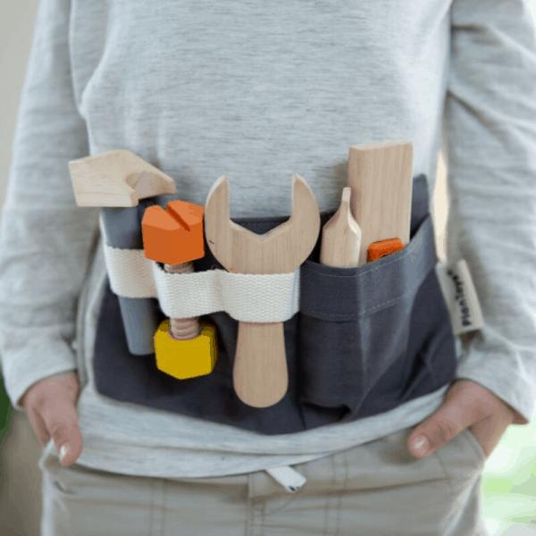 PlanToys Tool Belt on child