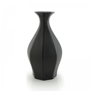 porcelain black table vase