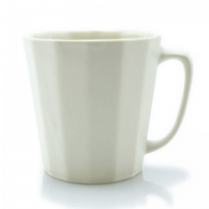 porcelain morning mug white
