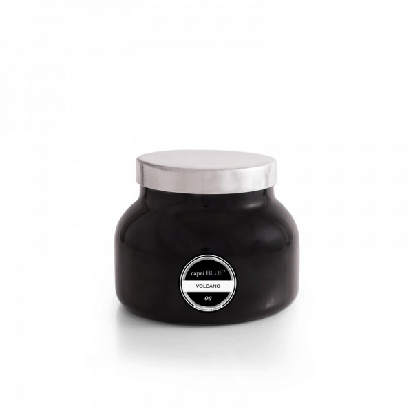 volcano black signature candle