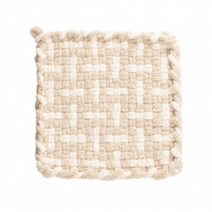 Winter White Potholder