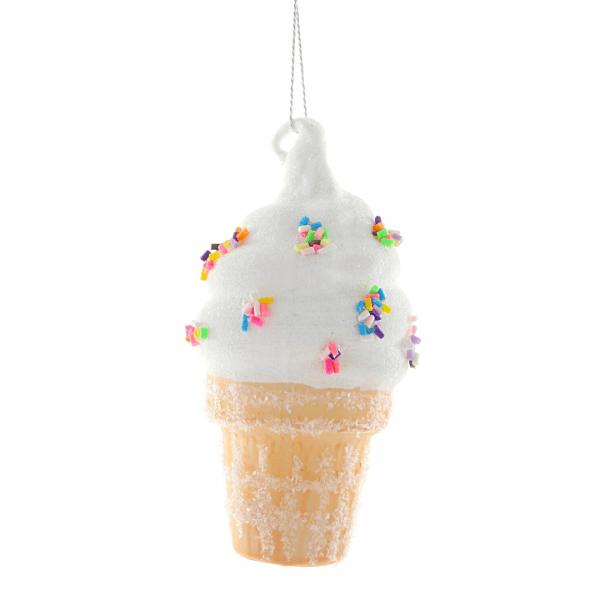 Cody Foster Ice Cream Cone Ornament