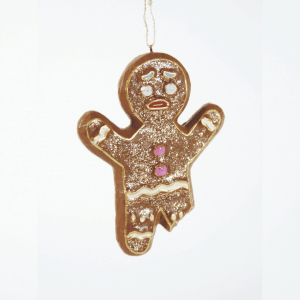 Cody Foster Poor Gingerbread Man Ornament