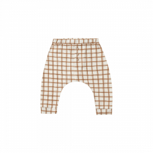 Rylee and Cru Grid Slub Pant
