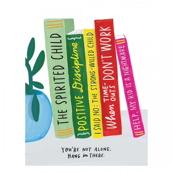 parenting books card