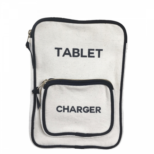 Tablet & Charger Travel Case