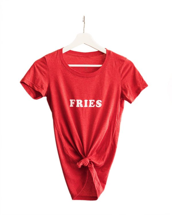 Fries Shirt Tied