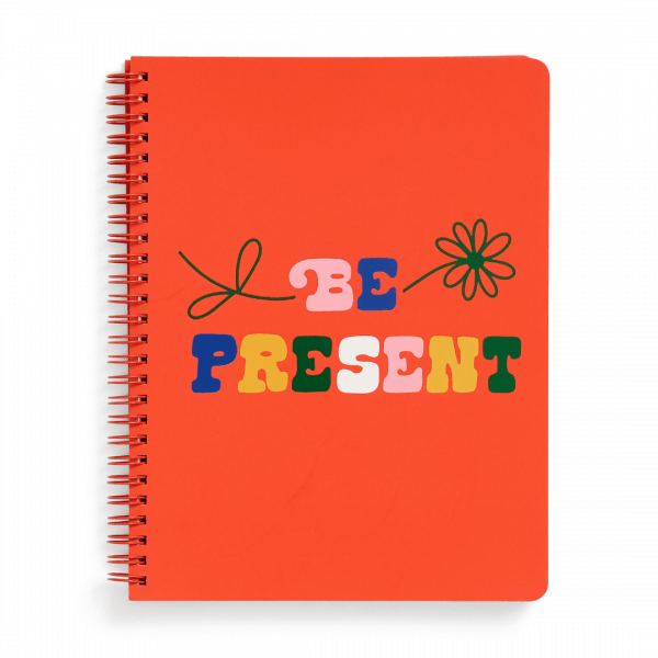 Rough Draft Mini Notebook Be Present