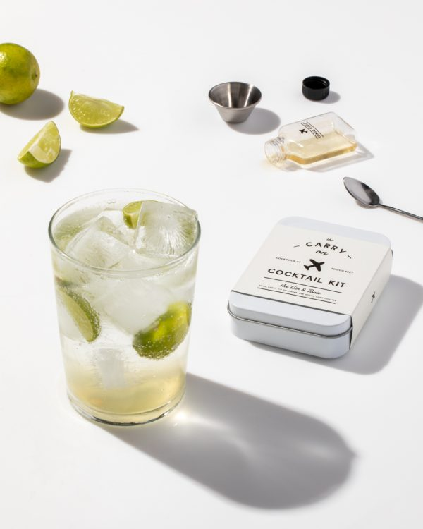 Gin and Tonic Cocktail Kit Lifestyle