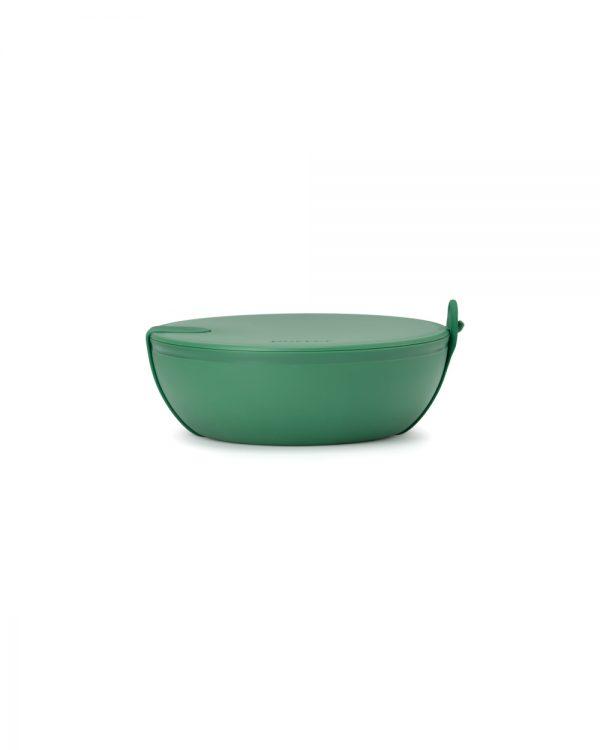 Green Plastic Porter Bowl Closed