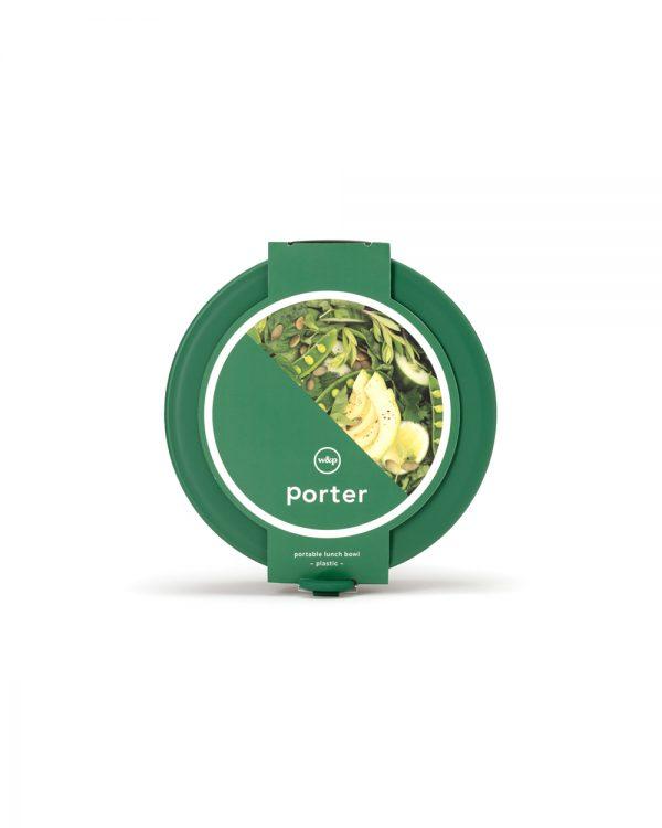 Green Plastic Porter Bowl in Packaging