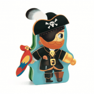 djeco pirate magnetic box game