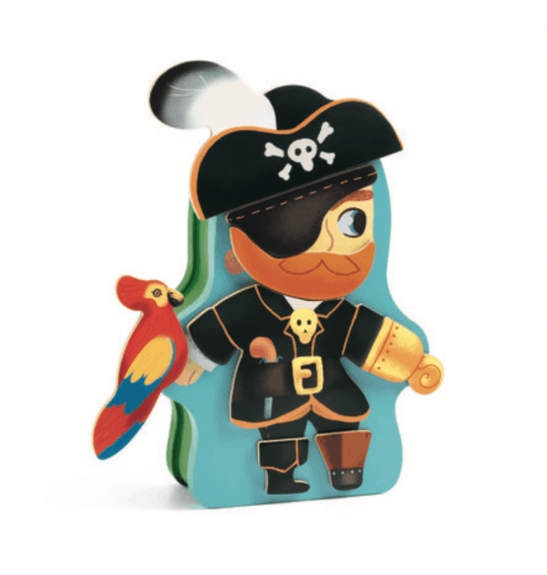 djeco pirate magnetic box game