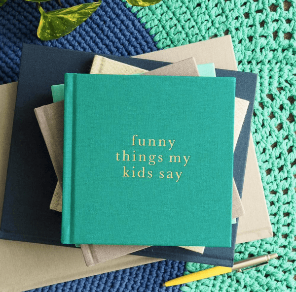 Funny Things My Kids Say Journal
