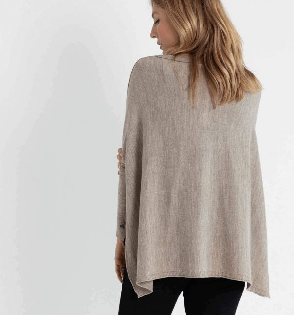 Driftwood Catalina Travel Sweater Back