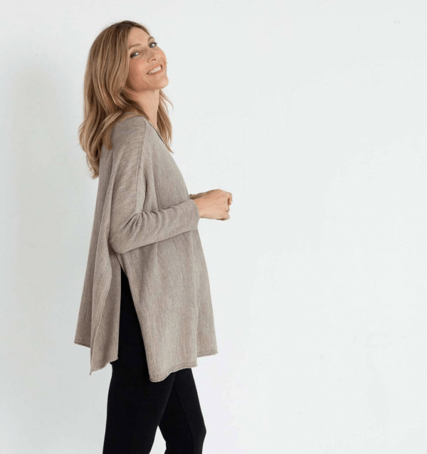 Driftwood Catalina Travel Sweater Side