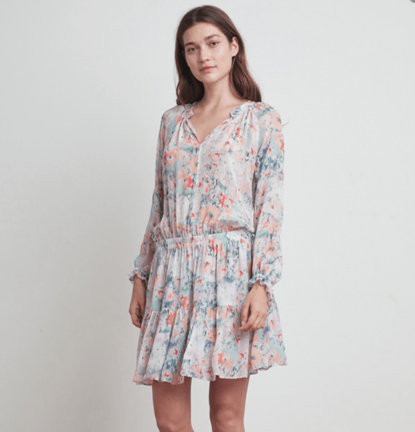 Leah Peasant Dress by Velvet