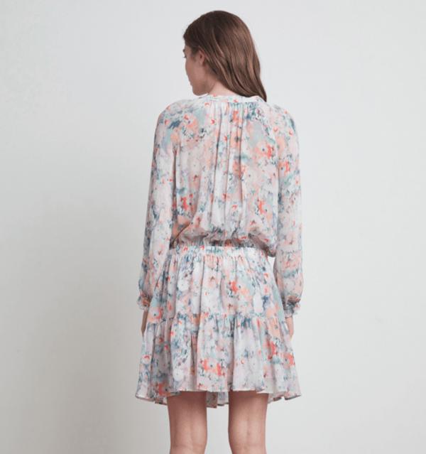 Leah Peasant Dress by Velvet Back