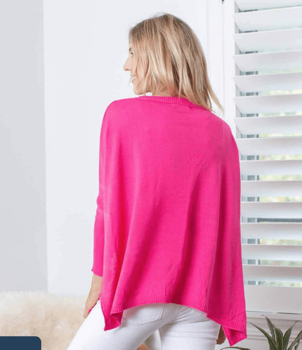 Pink Catalina Travel Sweater Back