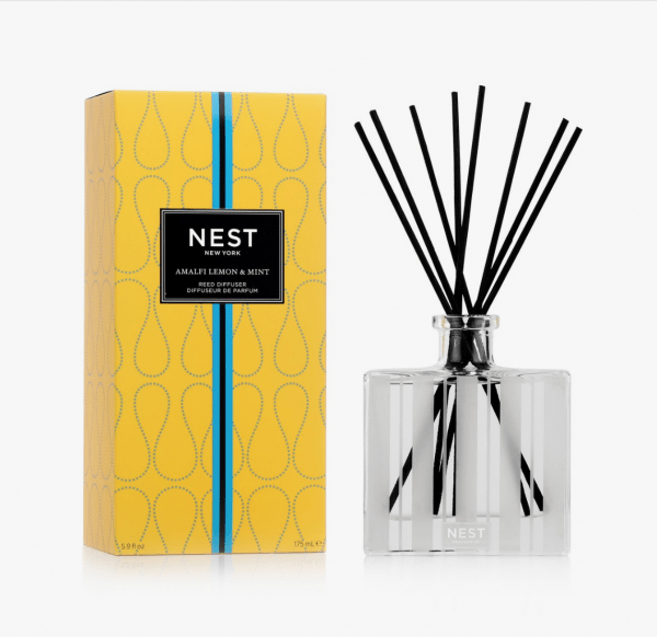 Amalfi Lemon & Mint Reed Diffuser by Nest Fragrances