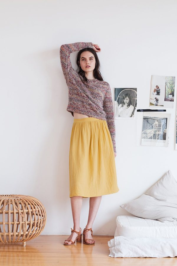 Cotton Gauze Skirt by Velvet by Graham & Spencer 1