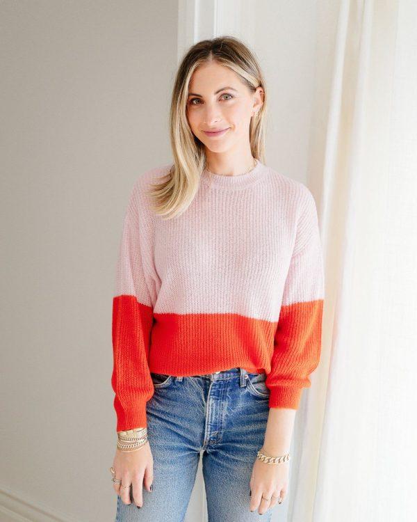 Cupcakes & Cashmere Janus Sweater 2