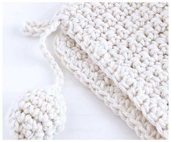 Hand Knit Pot Holder 2