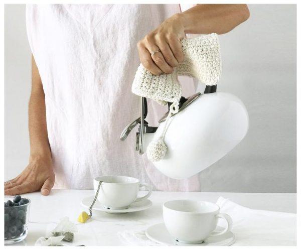 Hand Knit Pot Holder