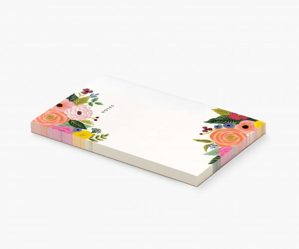 Juliet Rose Blank Notepad by Rifle Paper Co 1