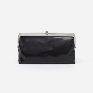 Lauren Clutch Wallet Black
