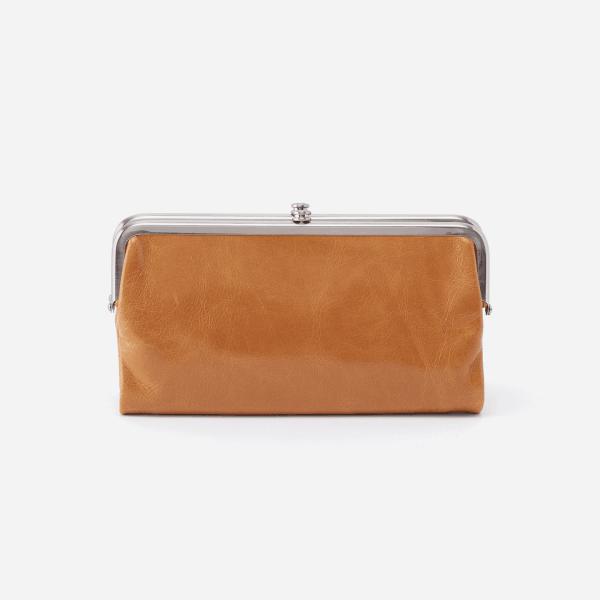 Lauren Clutch Wallet Honey