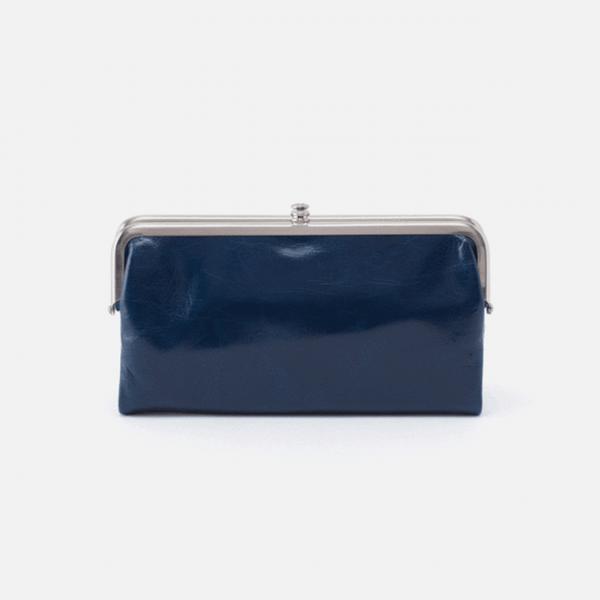 Lauren Clutch Wallet by Hobo Sapphire