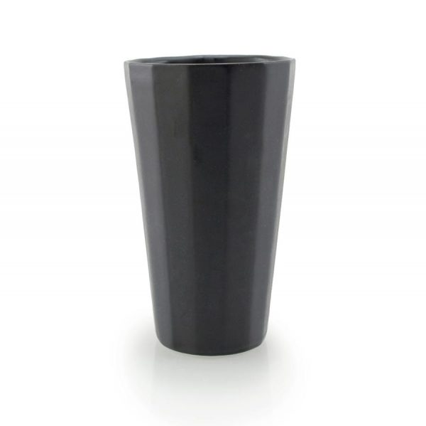 Porcelain Pint Black