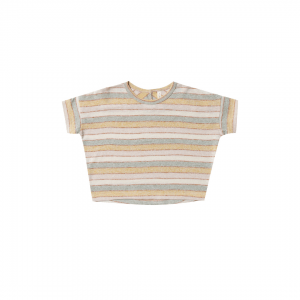 Rylee and Cru Stripe Boxy Tee