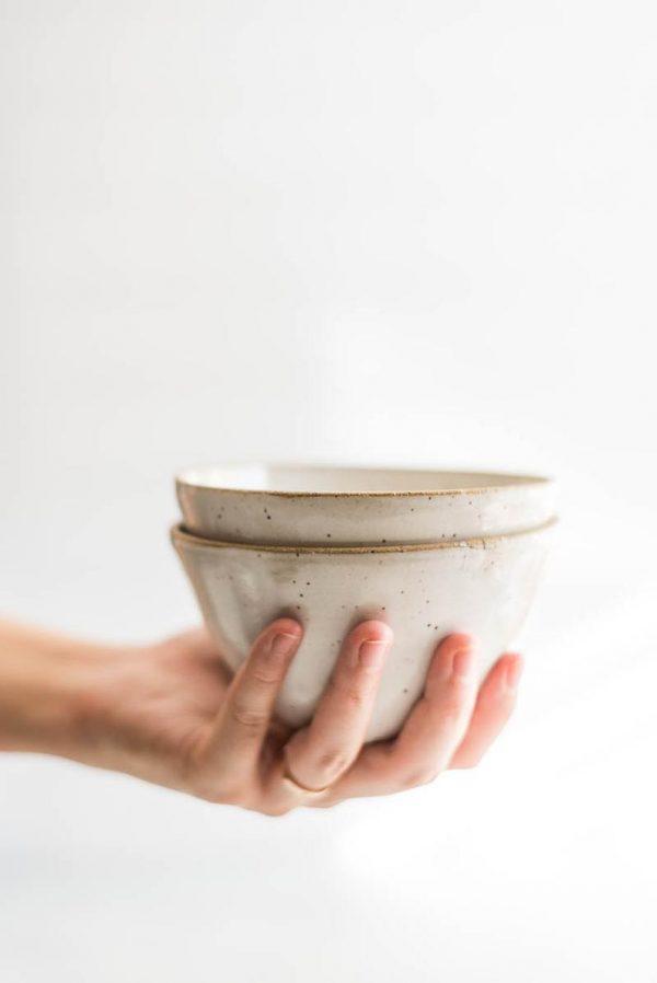 Small Ceramic Bowl Lifestyle