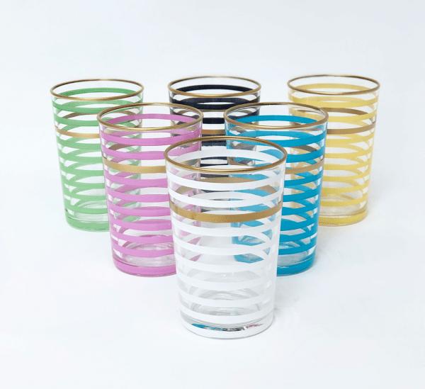 Springtime Juice Glass