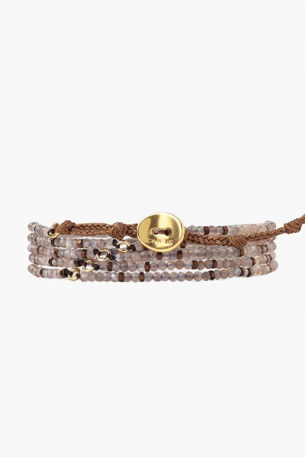 Bronze Mix Naked Wrap Bracelet Back