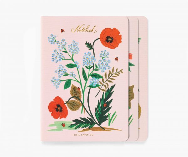 Botanical Stitched Notebook Set by Rifle Paper Co