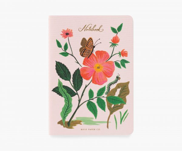 Botanical Stitched Notebook Set by Rifle Paper Co 1