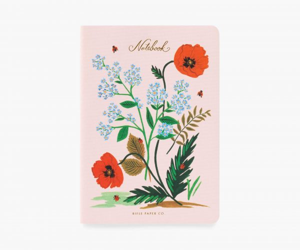 Botanical Stitched Notebook Set by Rifle Paper Co 2