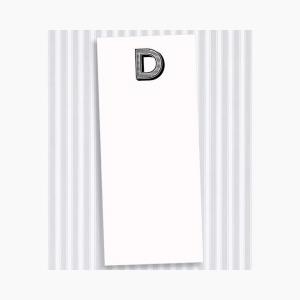 D Skinny Notepad Set