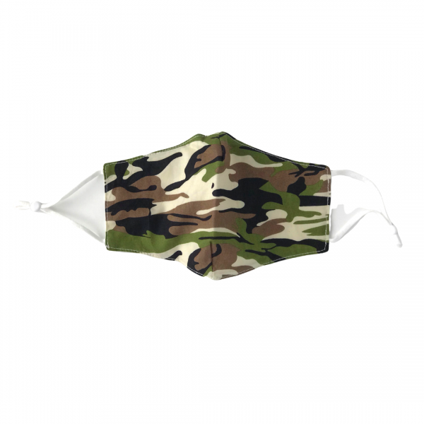Camo Cotton Face Mask