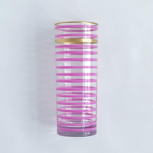 Lilac Highball Glass