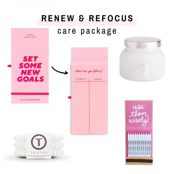 Renew & Refocus Care Package