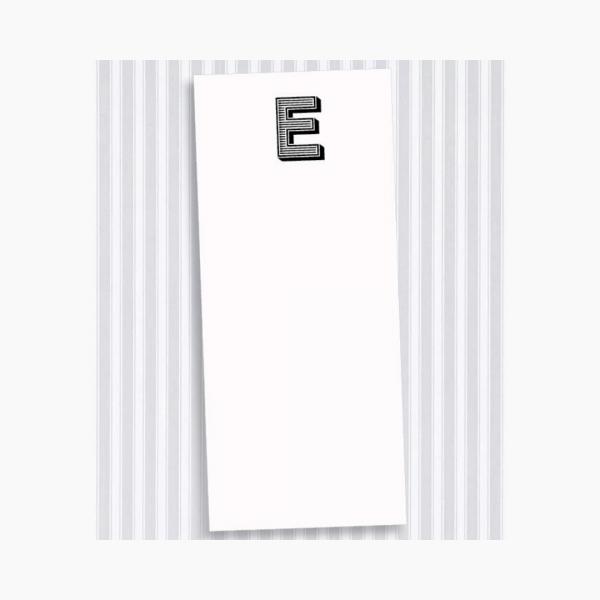 E Skinny Notepad Set