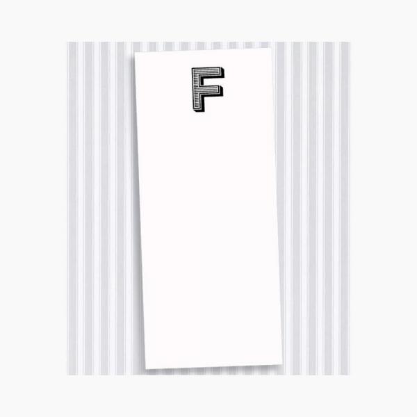 F Skinny Notepad Set
