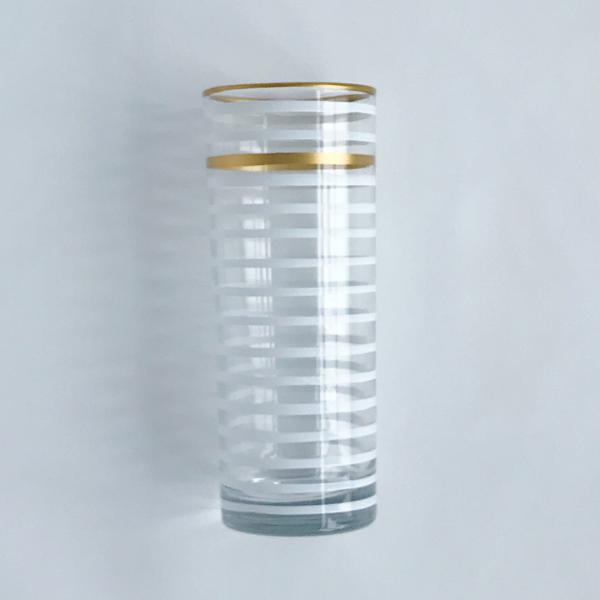 White Highball Glass