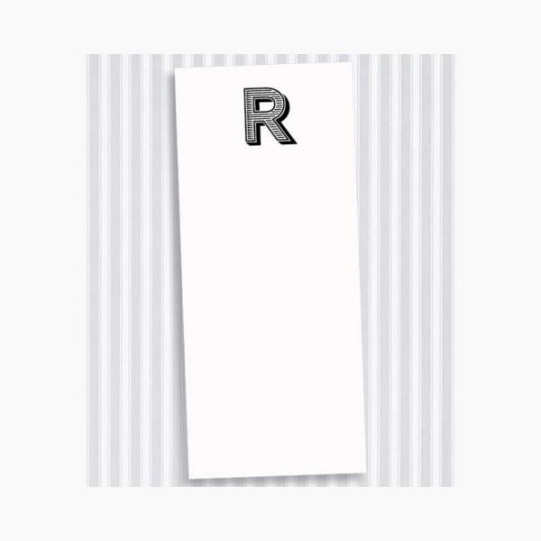 R Skinny Notepad Set
