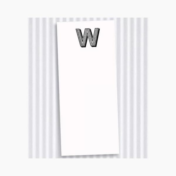 W Skinny Notepad Set